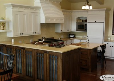 Lake of the Woods Cottage Cabinetry
