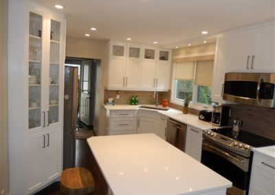 Elmhurst White Shaker Kitchen