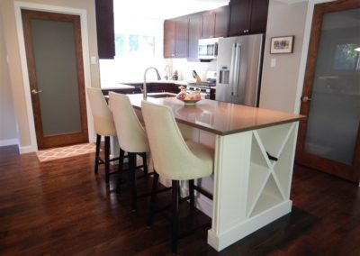 Westdale Two Tone Mission Kitchen