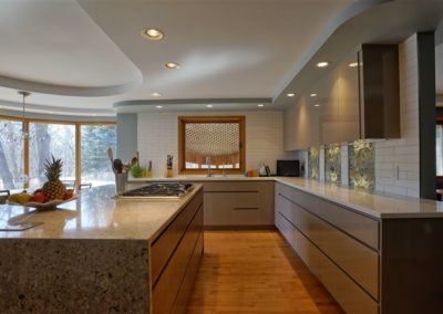 East St Paul – High gloss kitchen