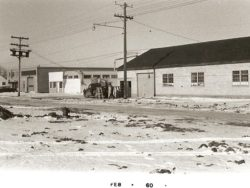 Two of the earliest businesses in North Kildonan. On the right is Hawthorne Kitchens and the two buildings on the left is J.I Dyck Manufactoring that was founded by Wally Dyck's uncle, J.I Dyck